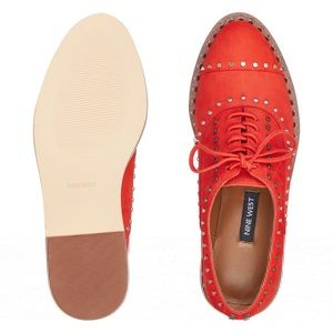 NEW Nine West Garroy Lace-Up Oxfords